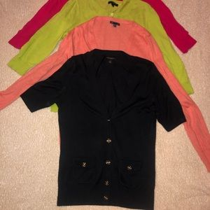 Bundle of 4 Cardigan sweaters (Gap and BR)